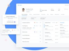 Hi Dribbblers! I am working on a project where Blockchain is used in a healthcare scenario: patients can share their medical records with different healthcare providers through the Blockchain. Dashboard Ui, Dashboard Design, Design Websites, Mobile Ui Design, App Design, Best Portfolio Wordpress Themes, Intranet Design, Mobiles, Design Spartan