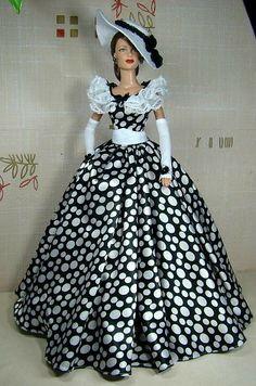 Vintage Barbie Clothes, Doll Clothes Barbie, Vintage Dolls, Barbie Gowns, Barbie Dress, Barbie Patterns, Doll Clothes Patterns, Barbie Costume, Barbie Fashionista