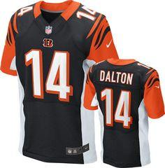 427967f7f ... Andy Dalton Jersey Home Black Nike Cincinnati Bengals Jersey bengals  cincinnati nfl ...