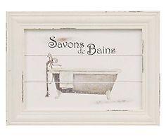 Quadro Savons de Bains - 44x34cm