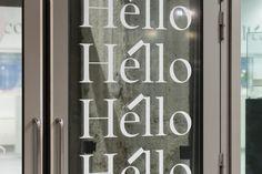 Institut Français de la Mode — Strategy, Branding & Digital by Base Design  #fashion #fashiondesign #institutfrancaisdelamode #paris #branding #fashionschool #typedesign #customtypeface #serif #wayfinding #signage #basedesign Student Fashion, School Fashion, Identity, Window Signage, New Tone, France, The New School, Kind Words, E Design