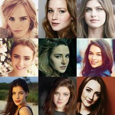 Actresses / Girls From Books / FANDOMS UNITE!