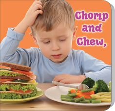 - Chomp and Chew, to a Healthy You!, Length: 16 Pages, Preschool - Kindergarten, This fun board book uses a healthy super hero to introduce young c. Healthy Habits For Kids, Healthier You, Fruits And Vegetables, Salmon Burgers, Healthy Eating, Lunch, Ethnic Recipes, Food, Amazon