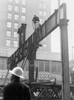 1955 Third Avenue El Demolition