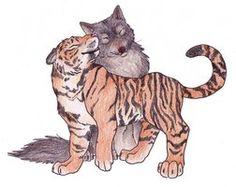 Tiger Wolf 2 by ~Mizu-Wolf on deviantART