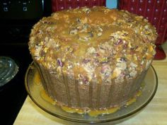 Pecan Pie Pound Cake! Many have asked me to make this for them. So, here is the recipe. The top does taste like pecan pie on top of pound cake! 4 stick butter, 4 cups sugar, 4 cups flour (cake or a...