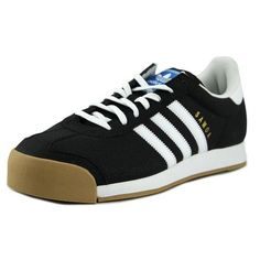 buy popular 3667e 50f35 Adidas Men s Samoa Core Black Ftw White Gold Metallic Ankle-High Leather  Fashion