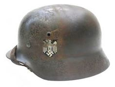 THE STAHLHELM  The design of the Stahlhelm was carried out by Dr. Friedrich Schwerd of the Technical Institute of Hanover in early 1915 studies done on injuries and fatalities from shrapnel and modern warfare hazards, led to this design that provides the best protection possible. Later the Stahlhelm became a symbol for Nazi Germany however the design of modern Kevlar helmets are based off the stahlhelm design.