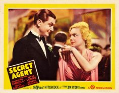 """Lobby card for """"Secret Agent"""".    Size: approx 14""""x11"""".     Tips on how to (start your own home business as a secret shopper.) Learn more by going to my site!"""