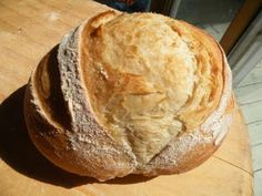 5 minute bread.. make a big batch of dough and keep in frig for up to two weeks...