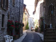 Street in Assissi Italy