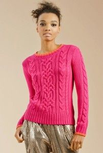 Splurge on this comfy, cozy and oh, so CUTE Nordic Sweater from Trina Turk.