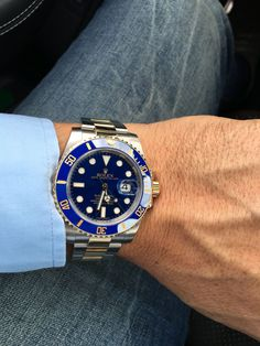 Rolex 116613LG Two Tone Submariner