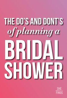FREE printable bridal shower planning kit - to do list, timeline ...