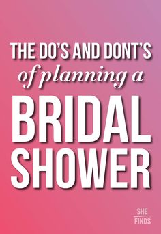 The Dos and Donts of throwing a bachelorette party