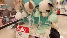 Craft room task lighting desk light mint white lamp target