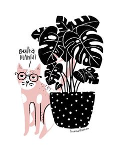 A ilustradora e designer brasileira Brunna Mancuso esbanja estilo quando falamos em traços e cores, criando ilustrações e pinturas únicas e originais.