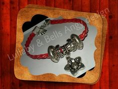 intrecci rossi di Lullaby & Bells Angy design su DaWanda.com