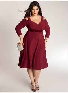 Siren Dress in Burmese Ruby. IGIGI by Yuliya Raquel. www.igigi.com