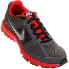 833673711d1 Tenis Nike Air Relentless 3 MSL Masculino Grafite   Vermelho