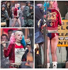 Set Photos Surface of Margot Robbie as Harley Quinn in Suicide Squad - Comic Vine