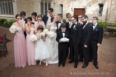 Photographer: Graham Hobart Reception Venue: The Perot Museum Florist: The Garden Gate Wedding Fun, Wedding Bride, Party Shots, Night At The Museum, Museum Wedding, Bridesmaid Dresses, Wedding Dresses, Dallas, Wedding Planner