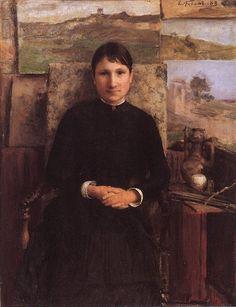 Émile Friant (French, 1863-1932) : Portrait of Edmond Marie Petitjean.