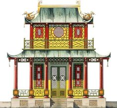 Chinoiserie by Dams and Zega