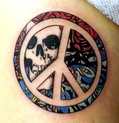 Grateful Dead Bertha Peace Sign.