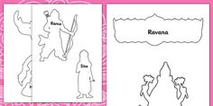 Diwali Story Shadow Puppets - roleplay, hinduism, RE, religion