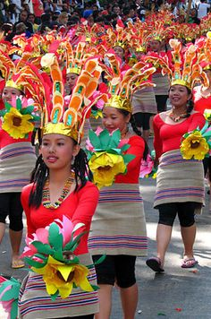 Panagbenga is month-long annual flower festival occurring in Baguio. The festival, held during the month of February, was created as a tribute to the city's flowers and as a way to rise up from the devastation of the 1990 Luzon earthquake.
