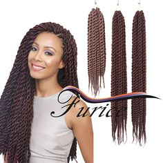 Aliexpress.com : Buy Crochet havana mambo twist braids Synthetic Havana Mambo Twist Synthetic Crochet Hairstyle Extension Braids Hair 12Strands from Reliable braids in hair suppliers on crochet braiding hair extension Store Havana Braids, Twist Braids, Crochet Hair Styles, Crochet Braids, Havana Mambo Twist Crochet, Braid In Hair Extensions, Hair Coloring, Braided Hairstyles, Afro