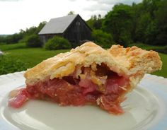 Rhubarb Pie, Altoon Sultan blog.