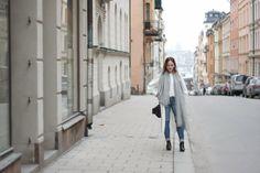 Wearing: Silk top/dress and DIY coat. Shop here: meandm.bigcartel.com