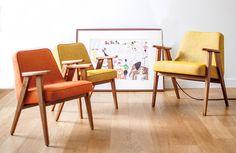 À la recherche d'un fauteuil design, qui s'intègre dans n'importe quel intérieur et qui, grâce a un design intemporel, traversera les différentes modes ? J'ai trouvé ce qu'il vous faut. C'est la marque 366 Concept qui fait renaître le design polonais en proposant une superbe réédition du fauteuil mythique du designer Jozef Chierowski.<br /> <br /> <br /> <br /> <br /> <br /> Déclinée en fauteuil pour enfants, adultes ou en canapé 2 places, la réédition du modèle 366, fauteuil emblématique du…