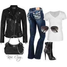 Sexy Biker Momma Outfits