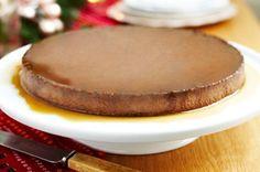 Mocha cheese cake flan- receta en español