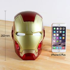 Brando must be losing its touch. Now it's selling products that Iactuallywant to buy, like this 1:1 scale model of Iron Man's Mk. XLIII helmet that's als