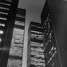 World Trade Center, Twin Towers, New York, by Peter Hujar