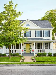 Steal inspiring #curbappeal ideas from eye-catching houses featured in #hgtvmagazine. http://www.hgtv.com/design/outdoor-design/landscaping-and-hardscaping/copy-the-curb-appeal-st-louis-missouri-pictures?soc=pinterest