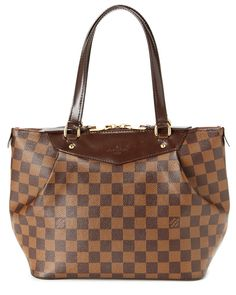 6ca1fe902dad Louis Vuitton Damier Ebene Canvas Westminster PM is on Rue.