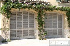 Louver (shutter) garage doors