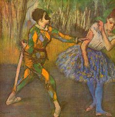 Edgar Degas - Arlecchino e Colombina - Quadri 1869  http://www.quadri-e-stampe.it/media/images/popup/hilaire-germain-edgar-degas-harlekin-und-colombine-02362.jpg