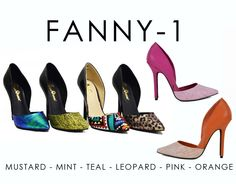 FANNY-1 by Athena Footwear <available in 6 colors> Call (909)718-8295 for wholesale inquiries - thank you!