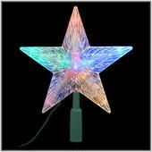 This tree topper reminds me of one we had as a child. Multi light pattern with filament lights. It was Spectacular!