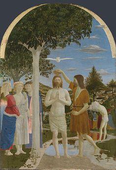 The Baptism of Christ (Piero della Francesca)