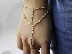 VENICE BEACH Armband Sklavenarmband US 14k goldf. von Kleines Karma - Natur & Trend Schmuck, Ketten & Colliers, Uhren, Accessoires und Geschenke aus Berlin auf DaWanda.com