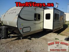This  Family Friendly 2 Bedroom Bumper Pull 2015 Catalina 343QBDS Sleeps...