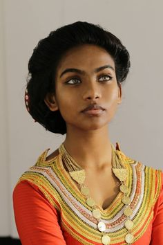 "kaitsubasaurus:    Traditional Maldivian. Photo by Shifaz Huthee ""One did not simply put on a Dhivehi Libaas. It was a symbol. The outspoken celebration of a girl becoming a woman. To wear one was to show pride in, and embrace one's feminine-hood. Worn only on special occasions like your wedding ceremony or in the presence of royalty, boavalhu elhi libaas was the ultimate image of beauty and perfection among Maldivians."""