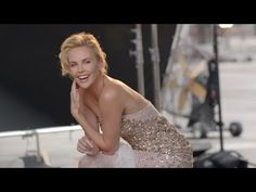 Charlize Theron, Luminous and unexpected. No I never meant you or wanted you to shut up.......I want a few of your close relatives to do that. NOT YOU..certainly not you...you look gorgeous while talking as well
